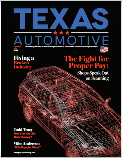 Texas Automotive September 2018 cover