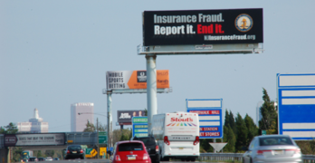 NJ Insurance Fraud Billboard