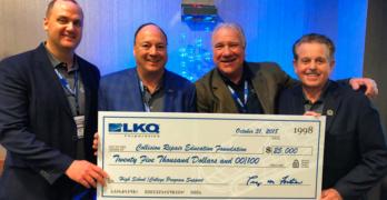 LKQ Corporation Donates $25,000 to Collision Repair Education Foundation