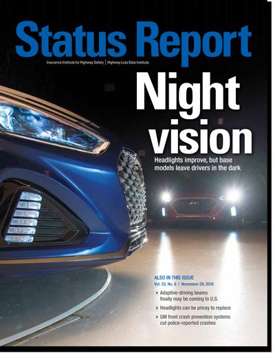 IIHS Status Report
