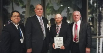 Chris Shepherd Receives Master Collision Repair & Refinish Technician Award