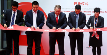 Axalta Ribbon Cutting Chengdu China