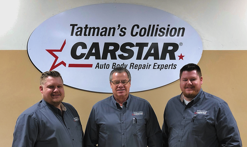 Chris, Tim and Matt Tatman have joined the CARSTAR network. CARSTAR Tatman's is located in Champaign, Ill.