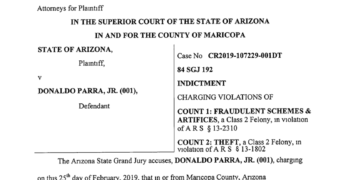 Parra Indictment