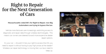 Massachusetts Right to Repair