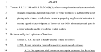 Louisiana House Bill 437