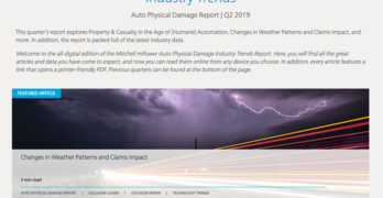 Mitchell Q2 2019 Industry Trends Report