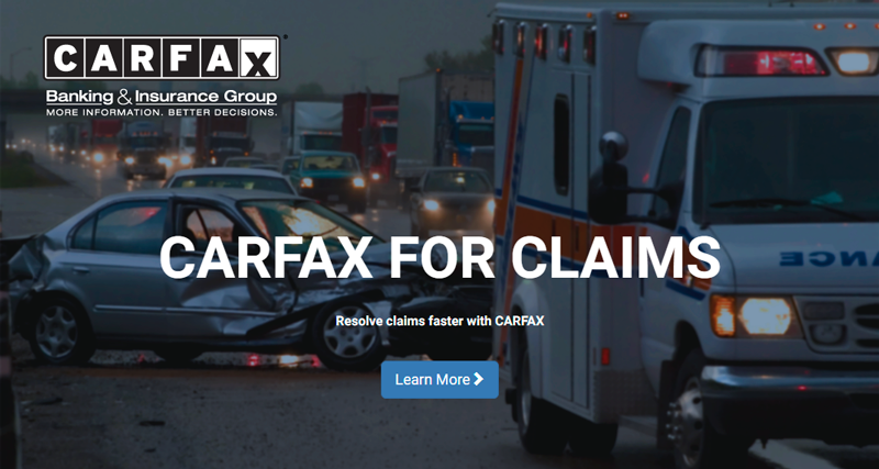 CARFAX for Claims
