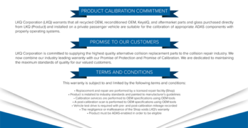 LKQ Promise of Calibration