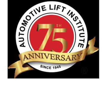 ALI 75th Anniversary logo
