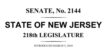 New Jersey Senate Bill 2144