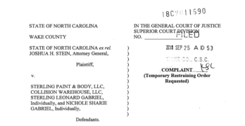 North Carolina lawsuit