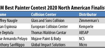 BASF R-M Best Painter Contest 2020 Finalists
