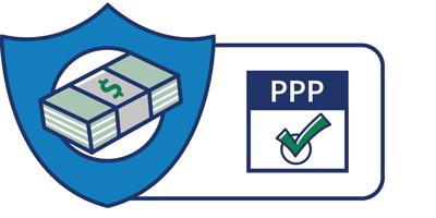 SBA PPP loan program icon