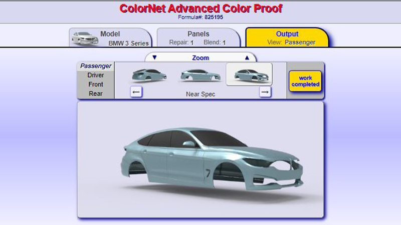 Axalta Advanced Color Proofing