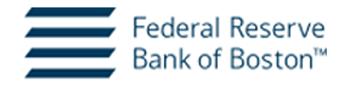 Federal Reserve Bank of Boston logo
