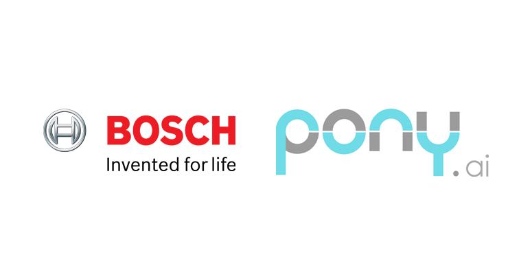 Bosch and Pony AI