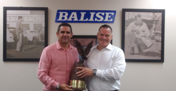 Balise Collision Center Receives Toyota Shop of the Year Award