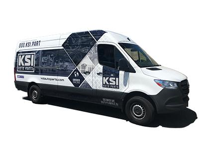 KSI Auto Parts Van