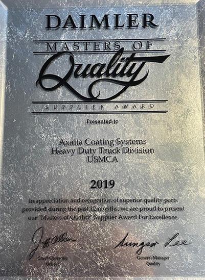 Axalta Daimler Award
