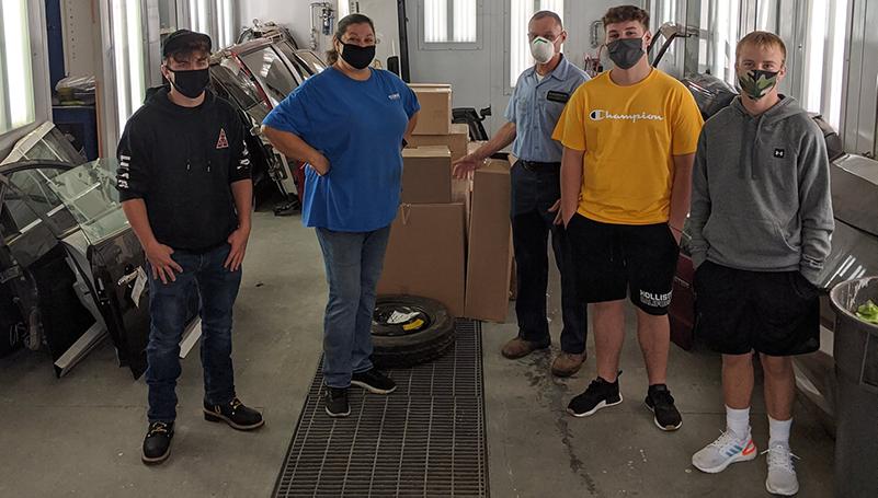 LKQ Donates Parts to CA BOCES