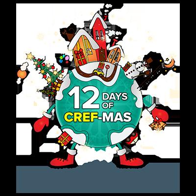 12 Days of CREF-mas