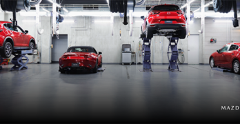 Mazda Collision Repair Network banner