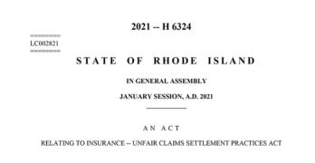 Rhode Island 2021 Legislation