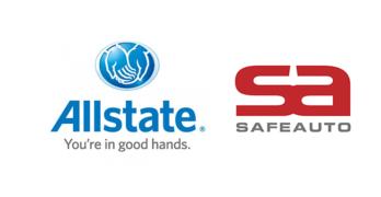 Allstate SafeAuto logos