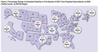 Q1 2021 Regional Traffic Fatalities
